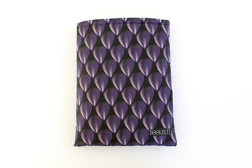 Dragon Scales Obsidian BookBud Book Sleeve