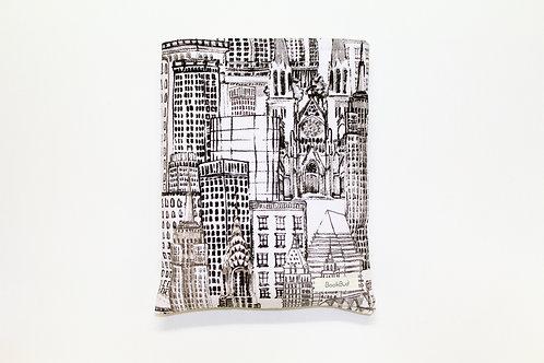 Cityscape BookBud book sleeve