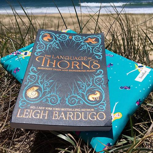 Mermaids BookBud book sleeve