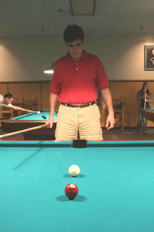 Pool Shot Stance
