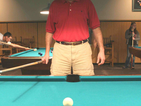 Pool Table Stance