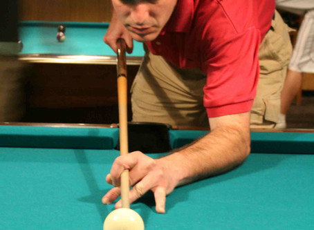 Pool table stance rule # 2