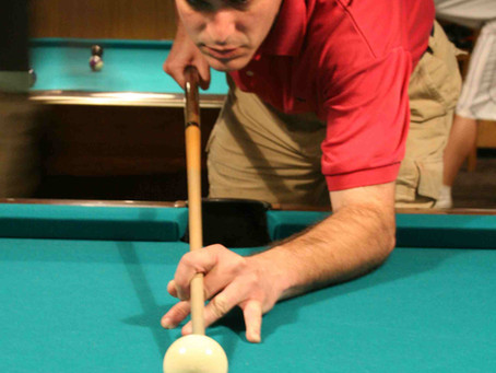 Pool table stance rule # 2