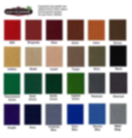 Pool table color selector | Mitchell Pool