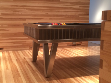 Stainless Steel Pool Table by MITCHELL