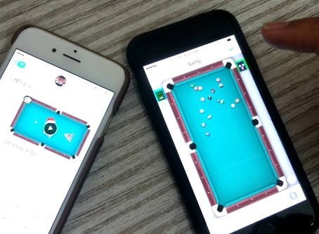 Playing pool on your Phone? There's an app for that!