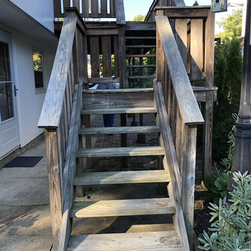 Built Deck (Before)