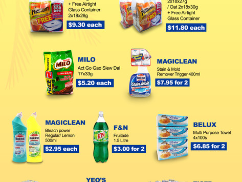 Weekly Weekend Promotion 26-28 March