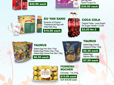 Weekly Weekend Promotion 7 - 9 May 2021