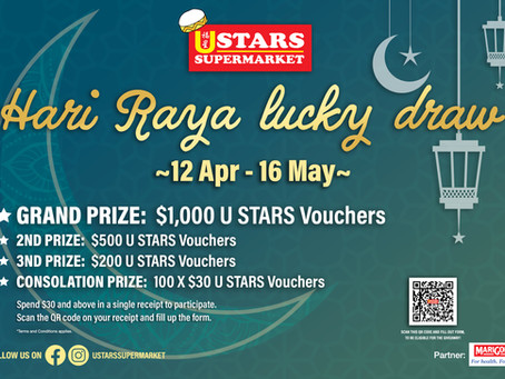 Hari Raya Lucky Draw 2021 (12 April 2021 – 16 May 2021)