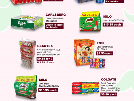Weekly Weekend Promotion 5-7 February