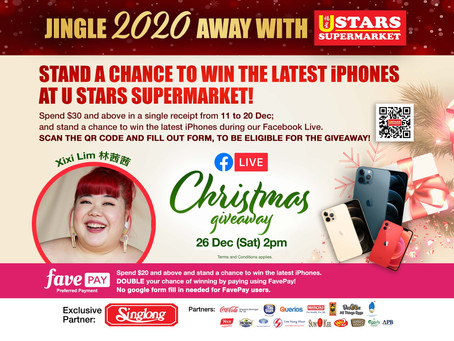 Facebook Live Christmas Lucky Draw (11 Dec – 20 Dec 2020) - Terms & Conditions