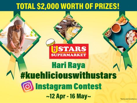 Hari Raya #kuehliciouswithustars Instagram Contest –Terms & Conditions