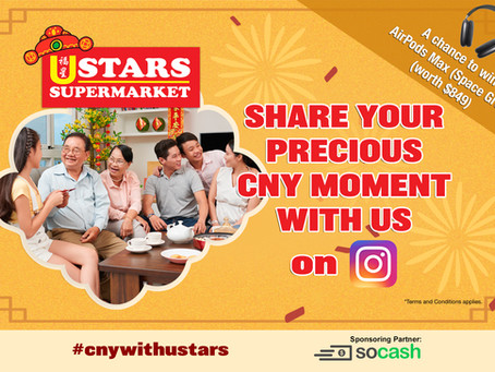 Create & Share Your Precious CNY Moment with us on Instagram! – Terms & Conditions
