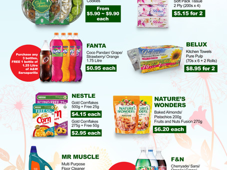 Weekly Weekend Promotion 30 April - 2 May 2021