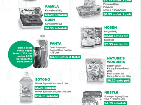 Great Deals from 28 Apr ~ 13 May 2021 feature on Berita Harian Newspaper!