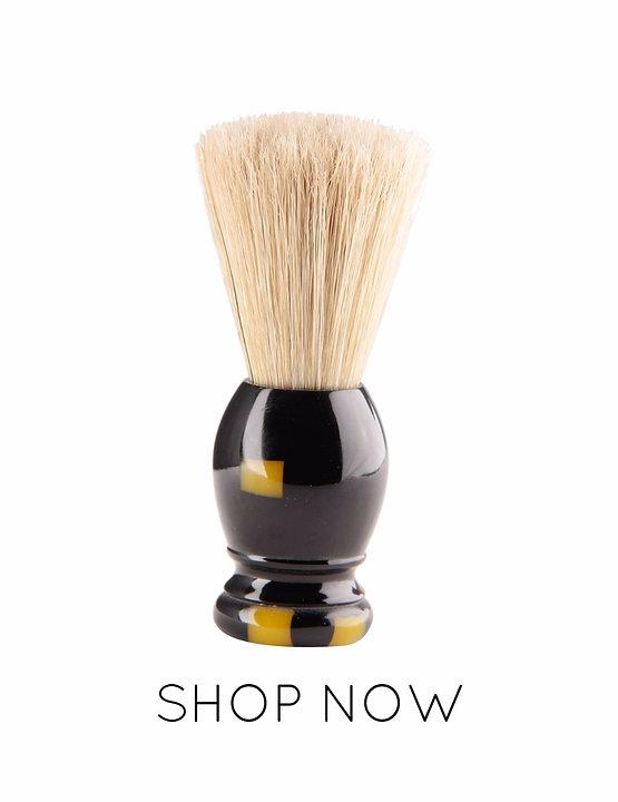 Resin Handle shaving brush for men