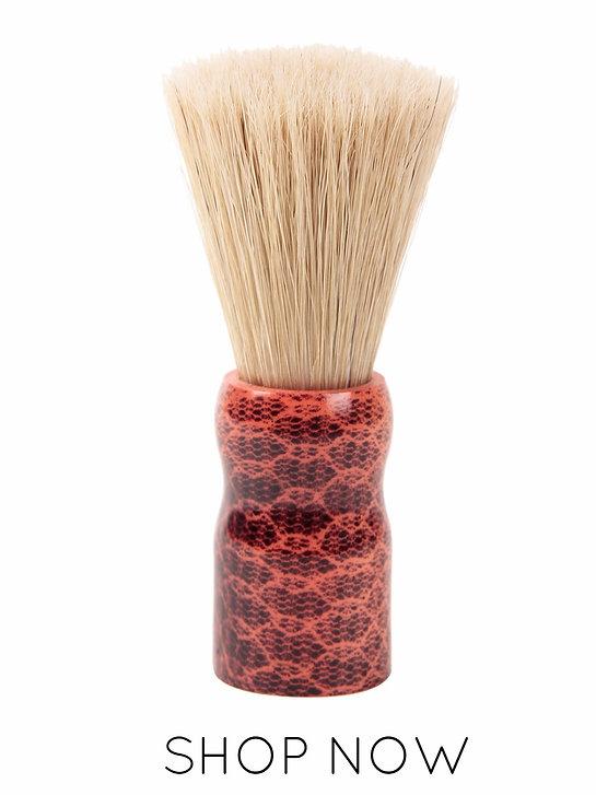 Shaving brush for wet shave