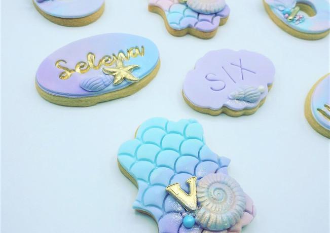 Mermaid Biscuits