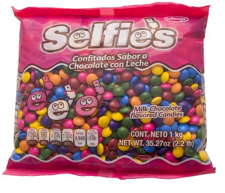 Selfies mix bolsa de 1kg