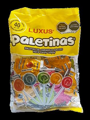 PALETINAS LUXUS BOLSA 40 PZ