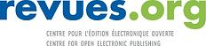 Logo Revue.org. Centre pour l'edition electronique ouverte
