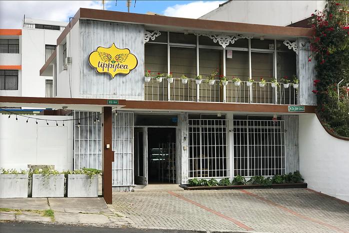 Tienda de Te local San Ignacio y Gonzalez Suarez Tippy tea