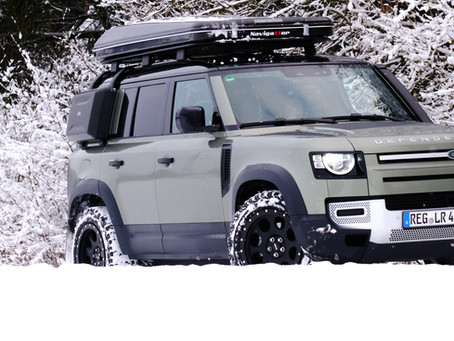 The new Landrover Defender