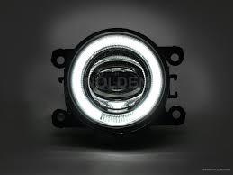 Nolden 90mm LED Nebelscheinwerfer mit Tagfahrlicht am Ford Ecosport 2017