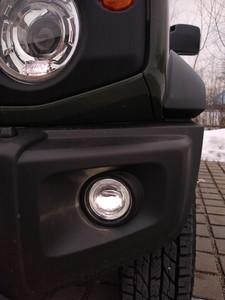 Suzuki Jimny 2019 - LED Nebelscheinwerfer von Nolden mit Tagfahrlicht