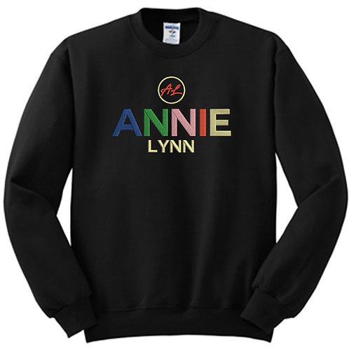 Black Multicolor Sweatshirt