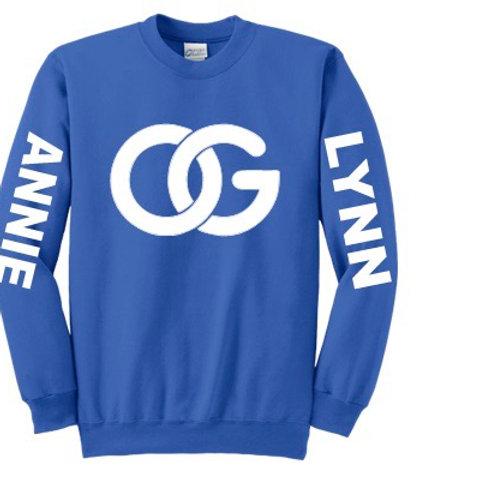 Blue and white OG Sweatshirt