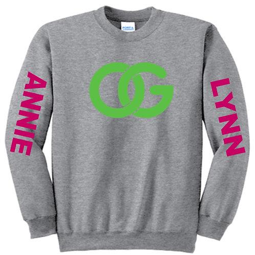 Pink/Green Annie Lynn Sweatshirt