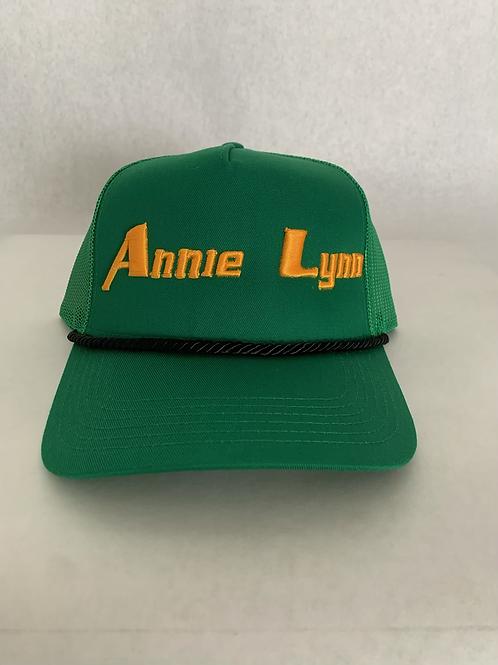 Green and Gold Annie Lynn Trucker