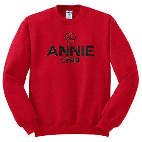 Red/Black Annie Lynn Sweatshirt