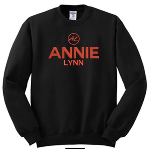 Black/orange Annie Lynn Sweatshirt