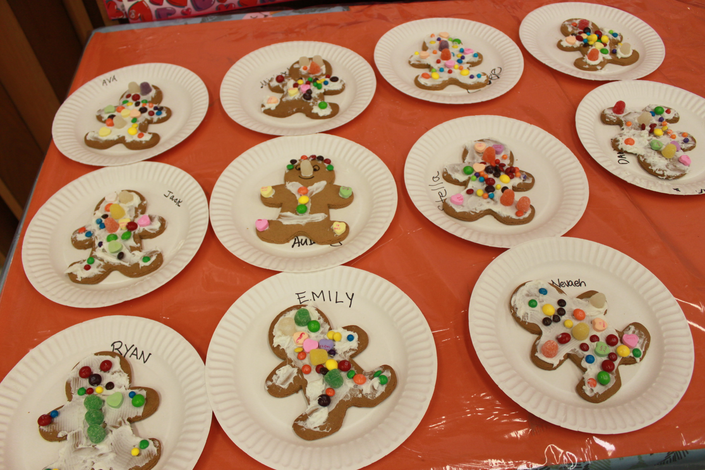 Our yummy Gingerbread!
