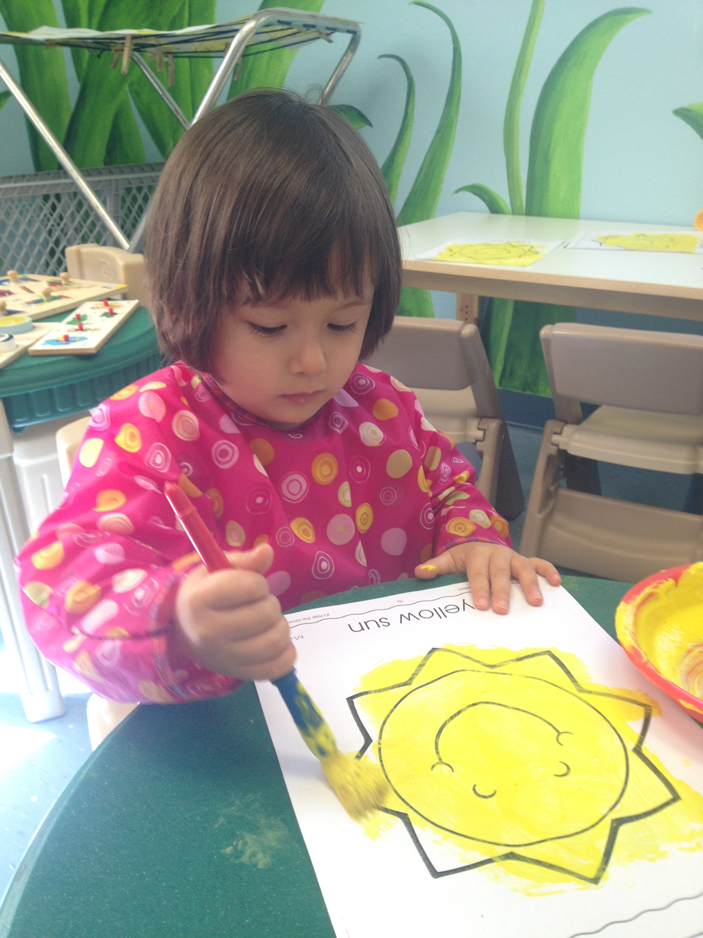 Painting With Yellow