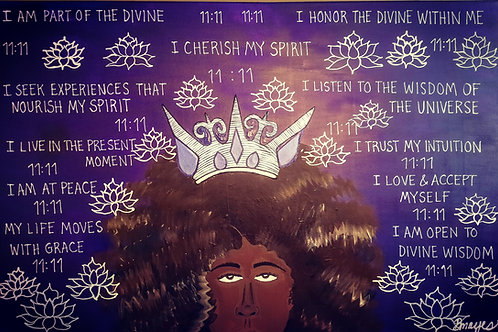 Limited Edition Print Crown Chakra Healing