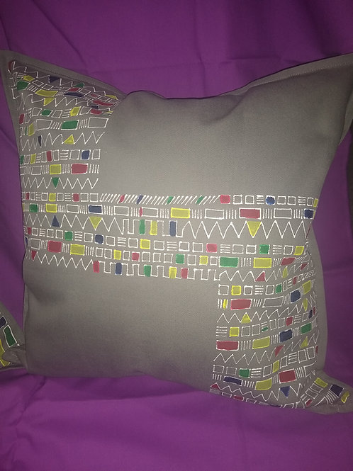"""""""Lego"""" throw pillow"""
