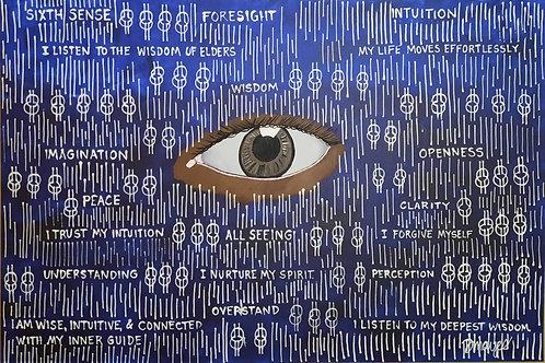 Limited Edition print Third Eye