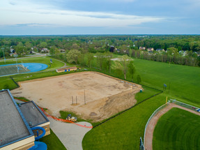 Tennis-Court-Construction-Aerial-Photography