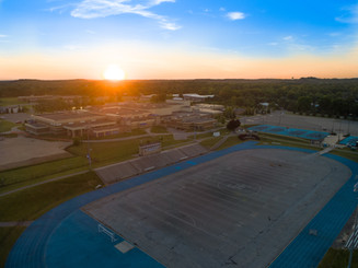 Aerial-Photography-Football-Field-Construction