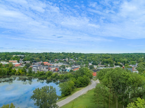 Aerial-Photography-Milford-Central-Park-Michigan
