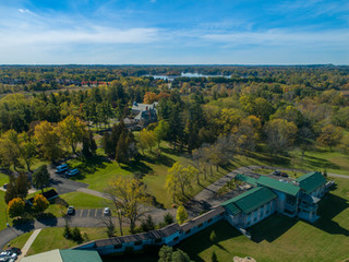 Aerial-Photography-Services-Scripps-Mansion-Lake-Orion