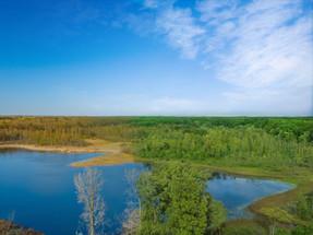 Aerial-Photography-Alderman-Lake-Michigan