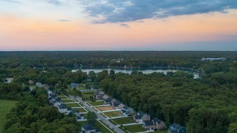 New-Construction-Neighborhood-Aerial-Photography-Michigan
