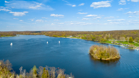 Aerial-Photography-Kent Lake-Milford-Michigan