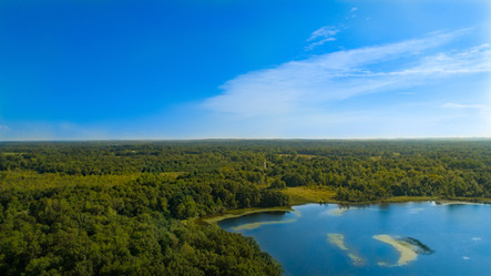 Aerial-Photography-Highland-Recreation-Michigan