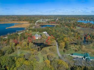 Aerial-Photography-Lake Sixteen-Michigan